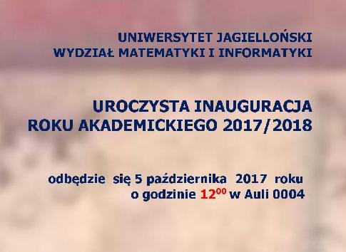 miniatura Inauguracja roku 2017/2018