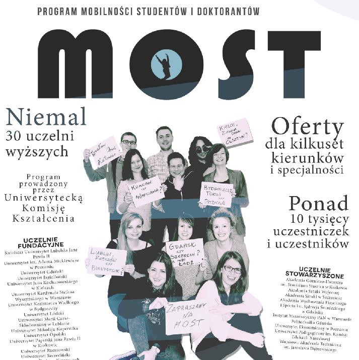 miniatura Program Mobilności Studentów i Doktorantów MOST